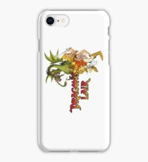 Dragons Lair - Dark Outline iPhone Case/Skin