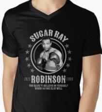 Sugar Ray Robinson Men's V-Neck T-Shirt