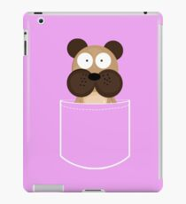 Cute Dog T-shirt, Funny Pocket Animal iPad Case/Skin