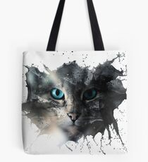 Cat Splash Tote Bag