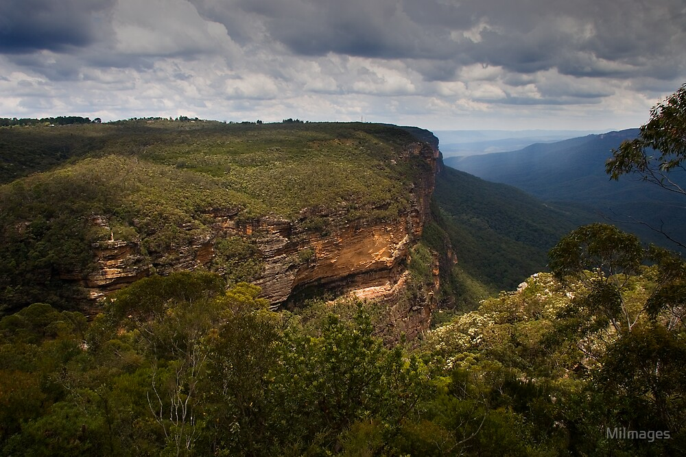 Wentworth Falls Blue Mountains NSW Australia by MiImages