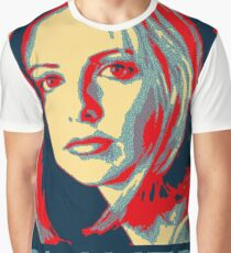 Buffy the Vampire Slayer - Obama Poster Graphic T-Shirt