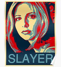Buffy the Vampire Slayer - Obama Poster Poster