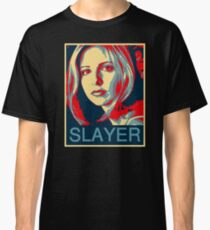 Buffy the Vampire Slayer - Obama Poster Classic T-Shirt