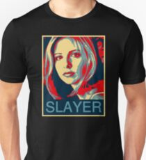 Buffy the Vampire Slayer - Obama Poster T-Shirt