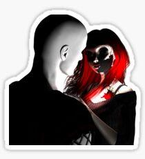Goth Couple Sticker