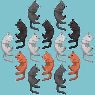 Sleeping Cats Pattern by nickelcurry