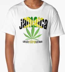 jamaica ganja Long T-Shirt