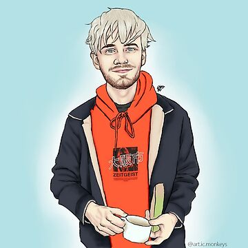 pewdiepie by art-ic-monkeys