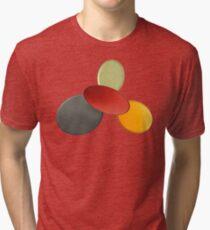 Playful colours Tri-blend T-Shirt