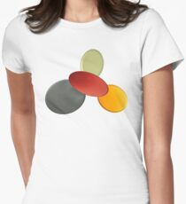 Playful colours Womens Fitted T-Shirt