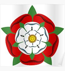 The Tudor Rose Poster