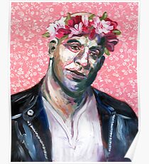 Floral Crown Dom Toretto - I live my life a quarter mile at a time. Poster