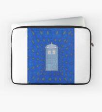 TARDIS in Flight Laptop Sleeve