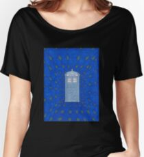 TARDIS in Flight Women's Relaxed Fit T-Shirt