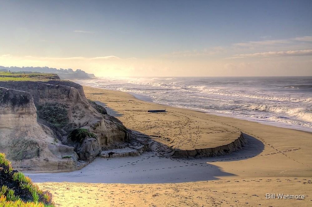 Half Moon Bay Beach by Bill Wetmore