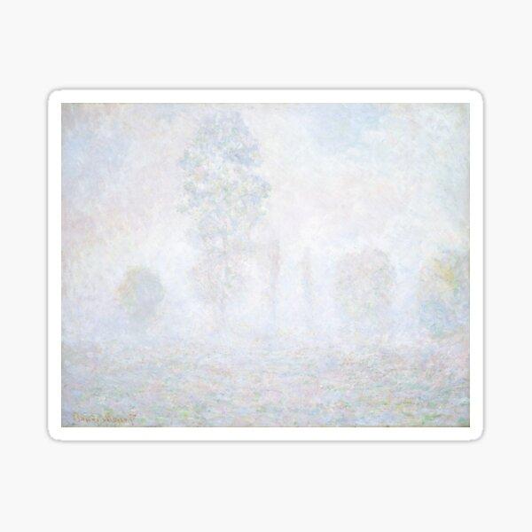 Morning Haze by Claude Monet Sticker