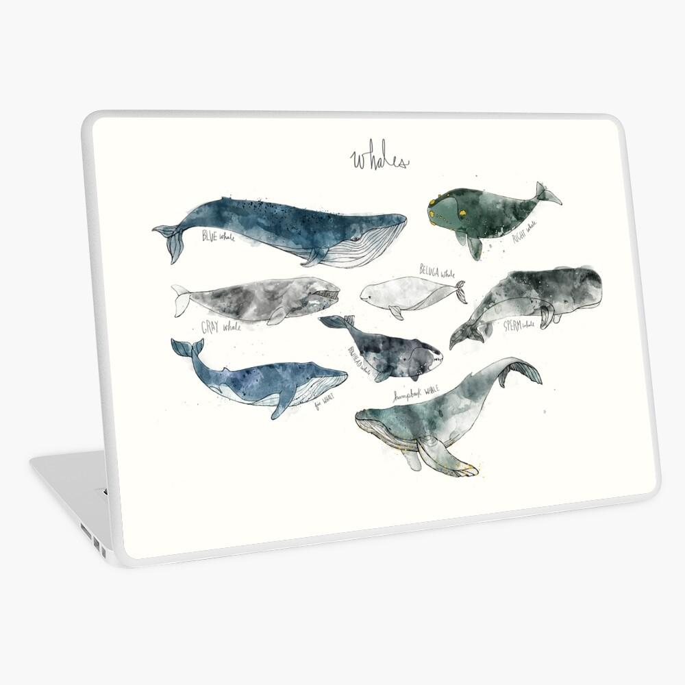 Whales Laptop Skin
