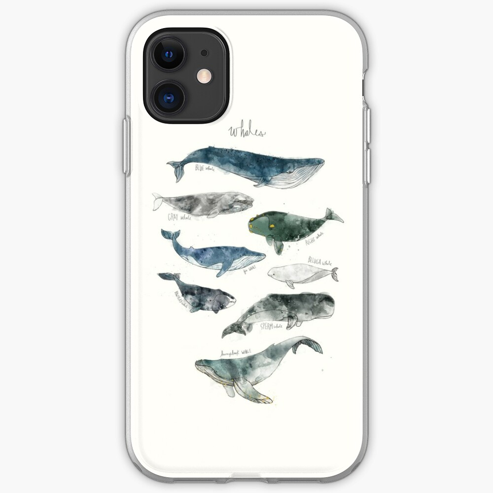 Whales iPhone Case & Cover