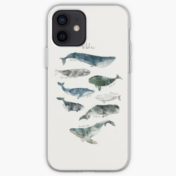 Whales iPhone Soft Case