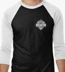 The Review of Death 'Black Diamond' Logo Men's Baseball ¾ T-Shirt