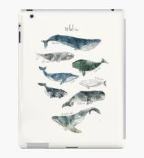 Whales iPad Case/Skin