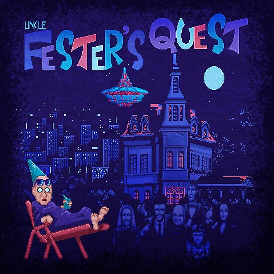Fester's Uncle Quest by likelikes