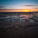Shark Bay Sunset by Naomi Brooks