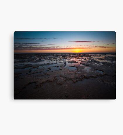 Shark Bay Sunset Canvas Print