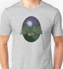 At Night In The Forest Unisex T-Shirt