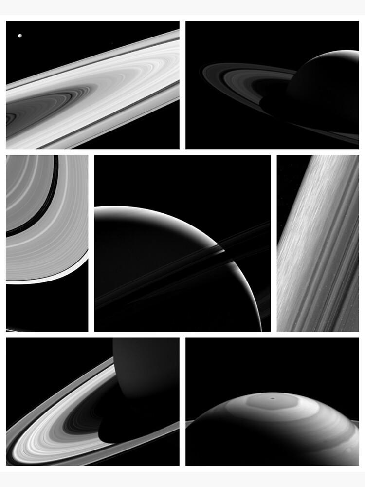 Saturn Cassini Collage by bobbooo