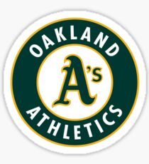 Oakland athletics Sticker