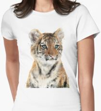 Little Tiger Fitted T-Shirt