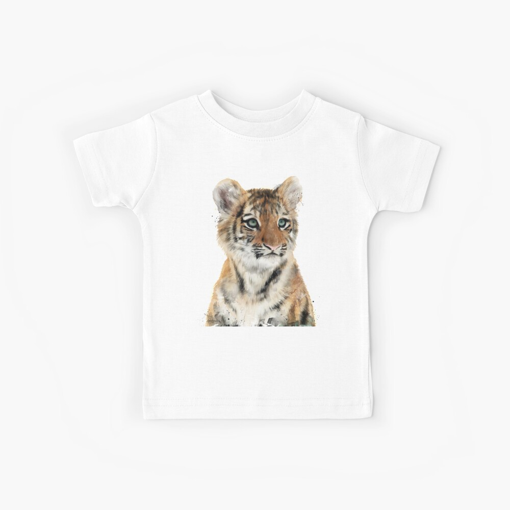 Kleiner Tiger Kinder T-Shirt
