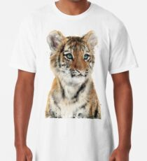 Little Tiger Long T-Shirt