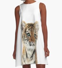 Little Tiger A-Line Dress