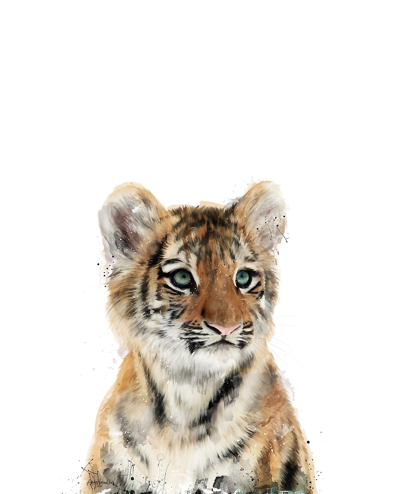 Kleiner Tiger von Amy Hamilton