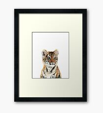 Little Tiger Framed Print