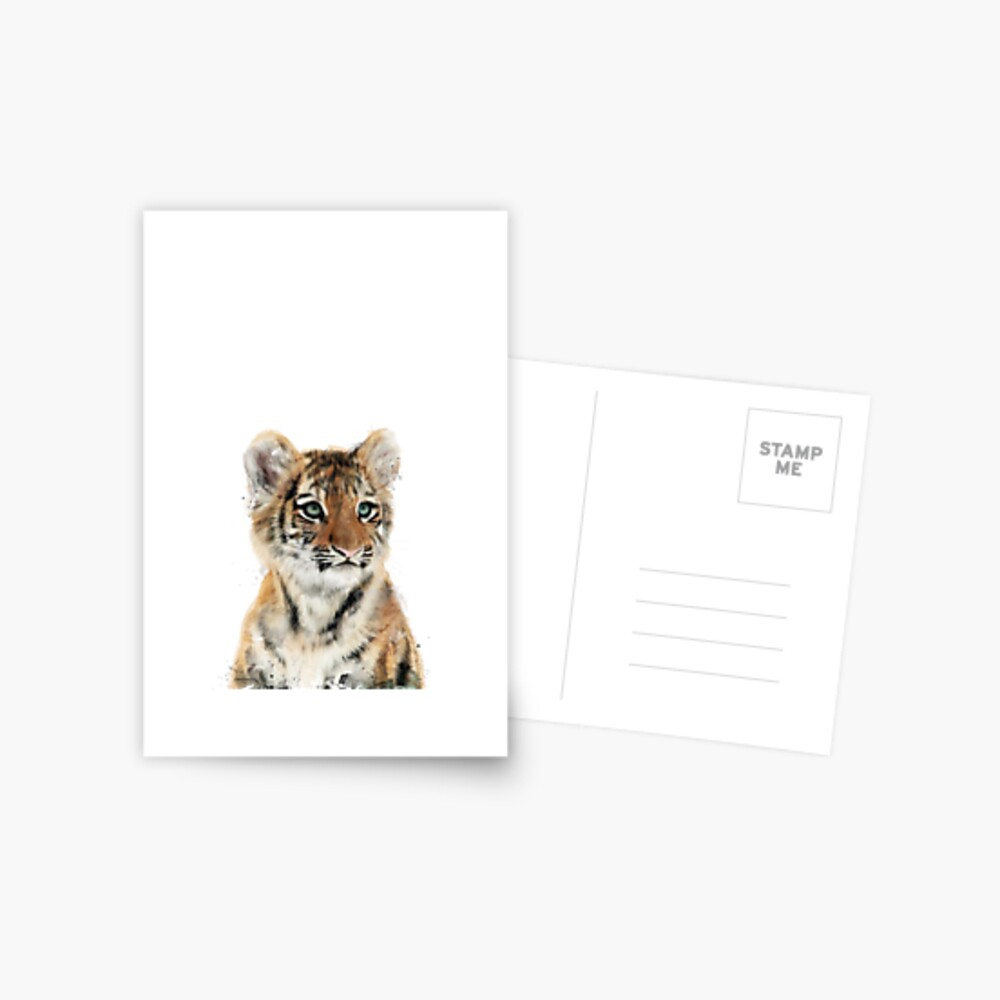 Little Tiger Postcard