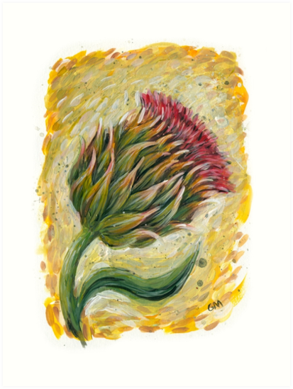 thistle by Gregory Moore
