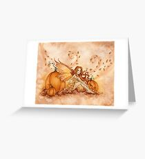 Autumn Fae Greeting Card