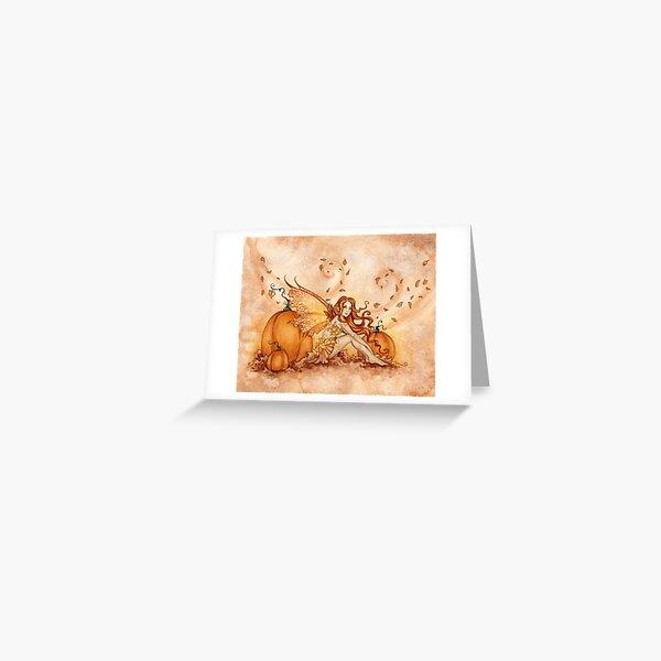 Autumn Fae Greeting Card