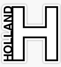 Holland (H) Sticker