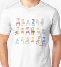 Swedish Chairs Unisex T-Shirt