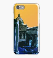 Sunset Sky over the Eternal City iPhone Case/Skin
