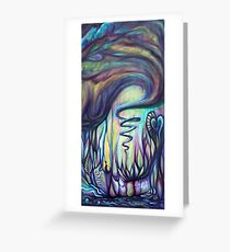 cosmic energy Greeting Card