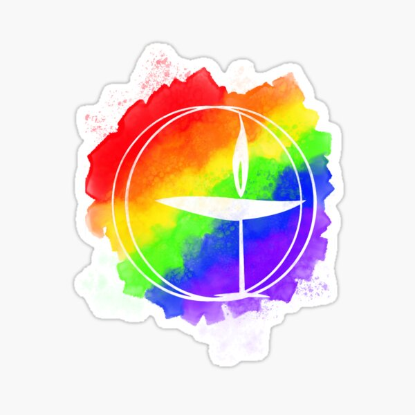 Rainbow Chalice Sticker