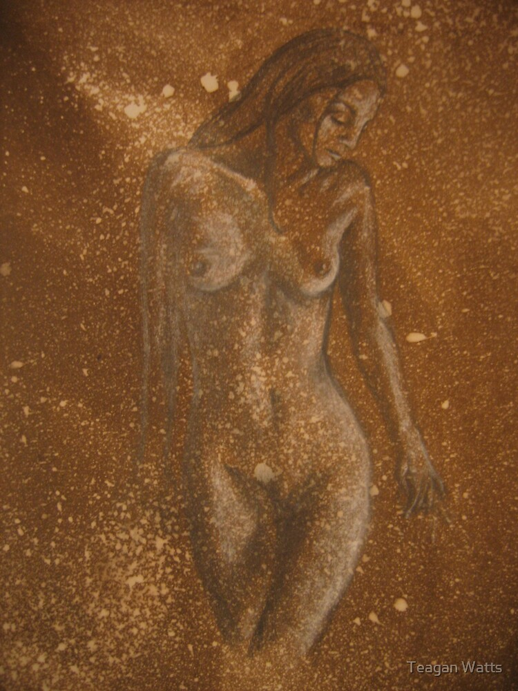 nude- in progress by Teagan Watts
