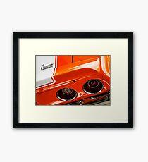 1970 Z28 Framed Print
