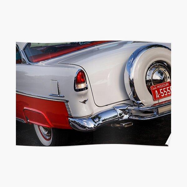 Poster 1955 Chevrolet Redbubble